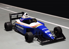 "RENAULT WILLIAMS FORMULE 1 JUNIOR "" AYRTON SENNA "" - VOITURE POUR ENFANT  Fabrication artisanale"