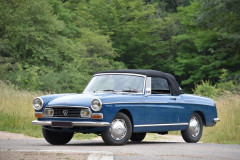 1966 Peugeot 404 Cabriolet Super Luxe Injection
