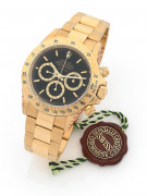 "ROLEX  Daytona, ref. 16528, série R, "" Floating Cosmograph - Inverted 6 "", n° R985722"