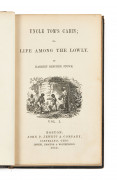 BEECHER STOWE (Harriet)  Uncle Tom's cabin, or, Life among the lowly.