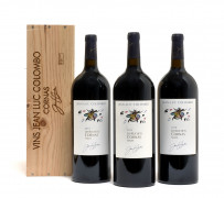 3 magnums 1 mag : CORNAS 2014 Les Ruchets. J.L. Colombo