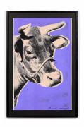 Andy WARHOL (1928 - 1987) Cow - wallpaper - 1979 Sérigraphie en couleurs