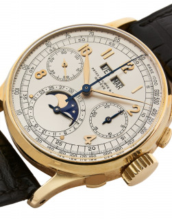 "PATEK PHILIPPE  Ref. 1518 ""Big Arabic"", n° 863336 / 633141"