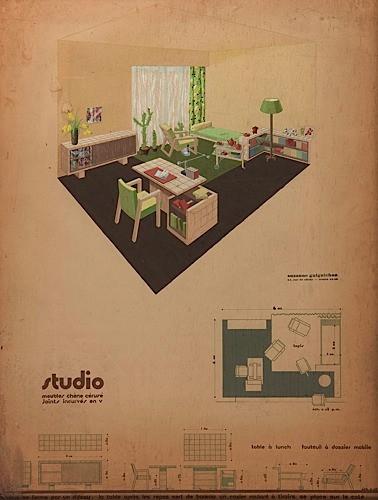 René Herbst Archives | Sale n°1340 | Lot n°227 | Artcurial