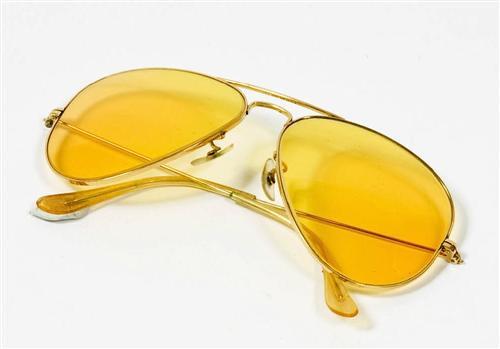 ray ban homme verre jaune