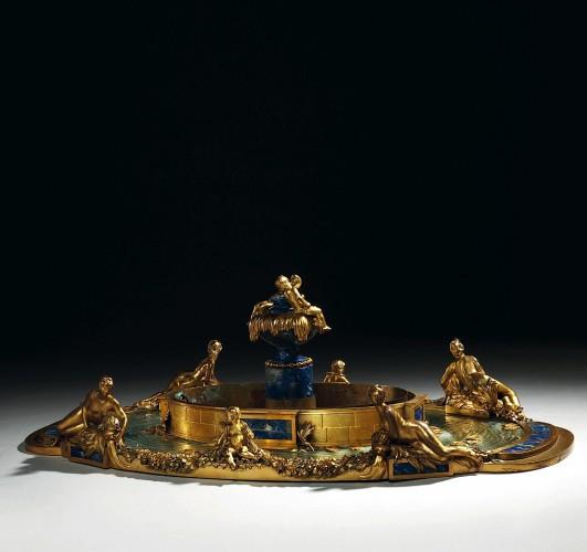 SURTOUT DE TABLE VERS 1900 PAR CARDEILHAC PARIS