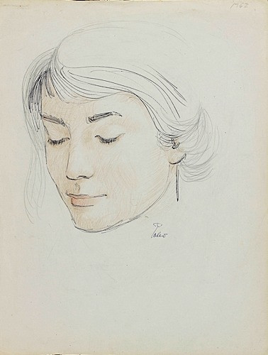 Hector POLEO (1918 - 1989) PORTRAIT D'ADELA RICO DE POLEO, FEMME DE...