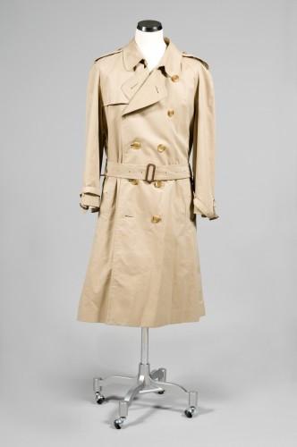 5741d9dc87ac BURBERRY TRENCH-COAT IMPERMEABLE pour Homme en gabardine de coton beige,  bavolet, doublure