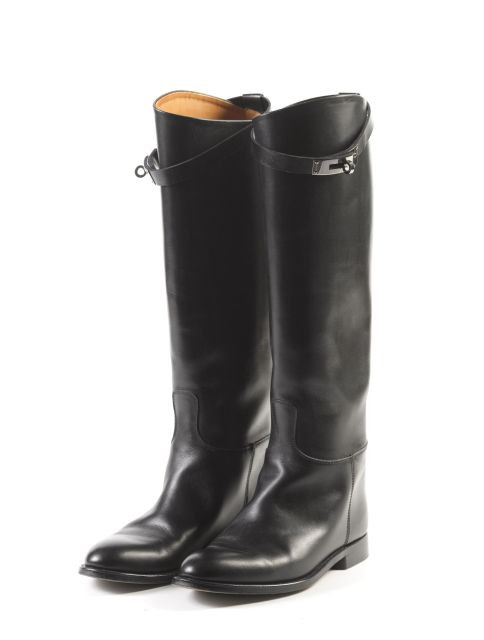 5092f6f8a89 HERMES Paris made in italy Paire de bottes