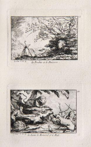GILLOT, Claude Nouveau recueil d'estampes Faittes pour l'Edition in-12 des...