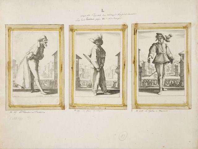 Jacques Callot Nancy, 1592 - 1635 Les Trois Pantalons