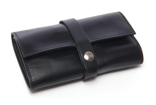 ... HERMES Paris Kit de manucure de voyage en box noir, intérieur  comprenant une petite paire 6853bef063b