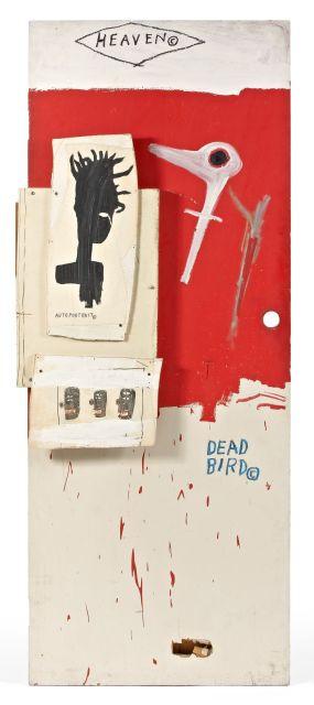 Jean-Michel BASQUIAT (1960-1988) DEAD BIRD, 1985