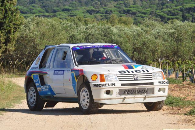 1984 Peugeot 205 Turbo 16 Evolution 1 Gr. B, voiture d'usine