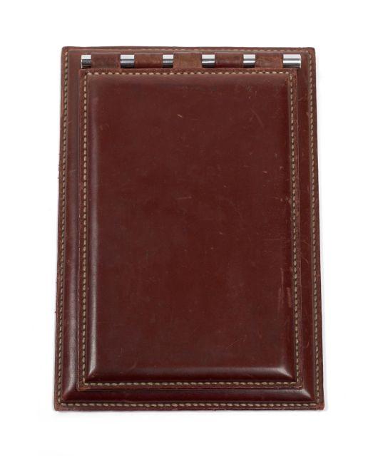 8879d224d5e4 HERMES Paris Bloc-notes en box rouge