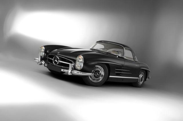 1961 Mercedes-Benz 300 SL Roadster avec Hard-top