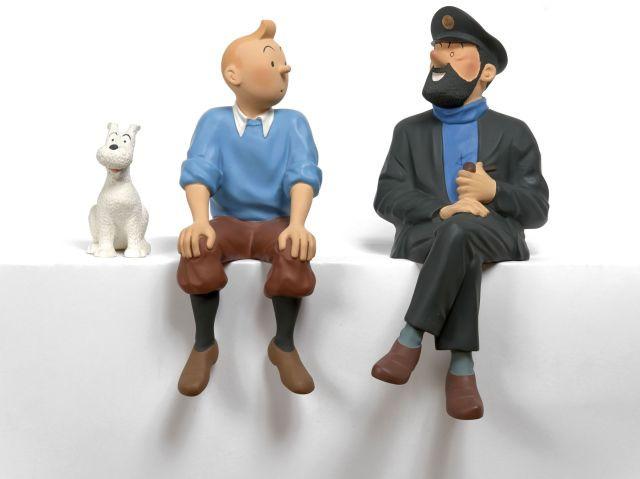 Papier Peint Tintin Et Milou the universe of the creator of tintin | sale n°2546 | lot n°302