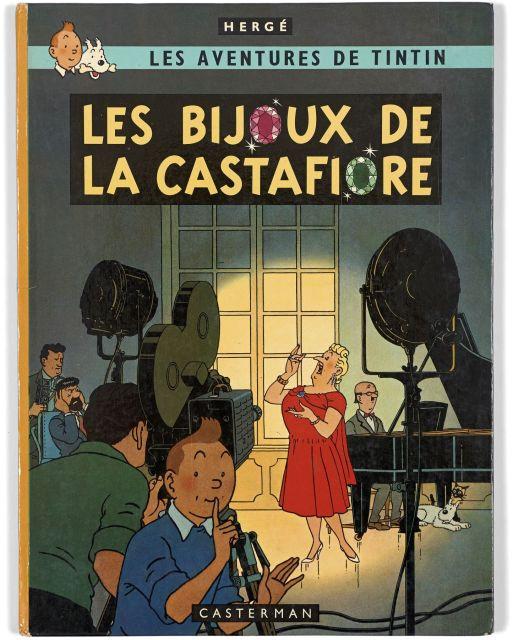 Papier Peint Tintin Et Milou the universe of the creator of tintin | sale n°2546 | lot n°161