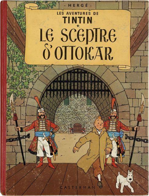 Papier Peint Tintin Et Milou the universe of the creator of tintin | sale n°2546 | lot n°118