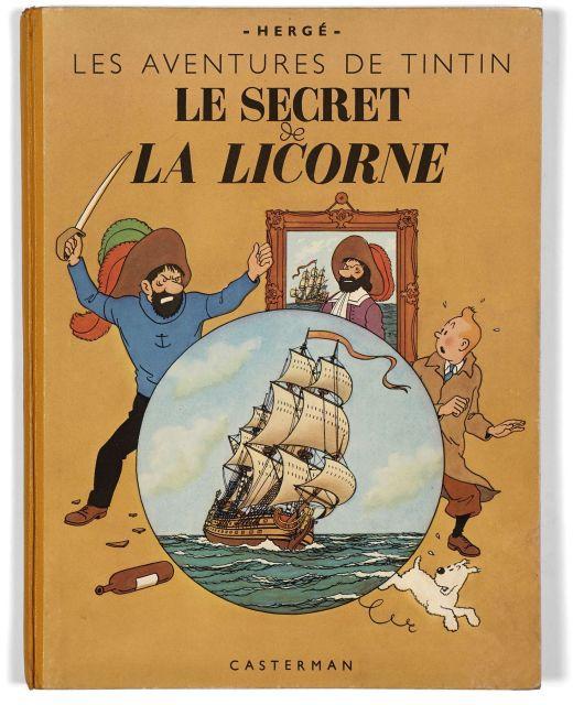 Papier Peint Tintin Et Milou the universe of the creator of tintin | sale n°2546 | lot n°129