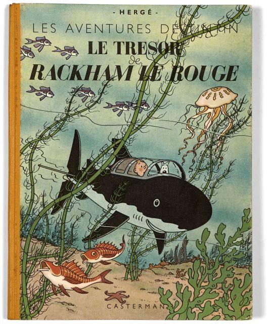 Papier Peint Tintin Et Milou the universe of the creator of tintin | sale n°2546 | lot n°131