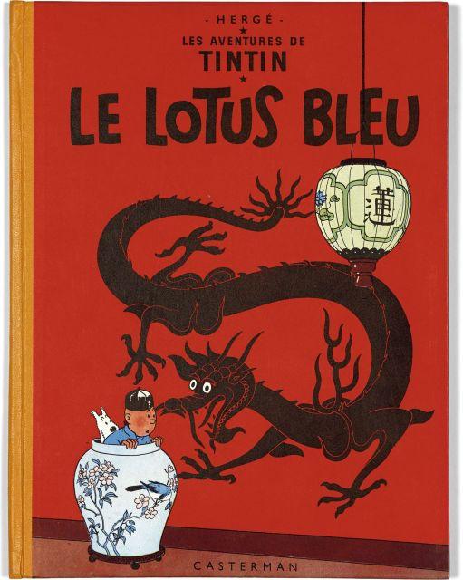Papier Peint Tintin Et Milou the universe of the creator of tintin | sale n°2546 | lot n°94