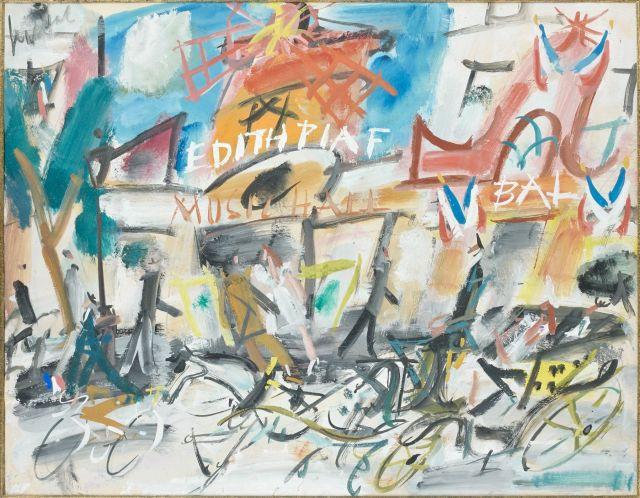 7c3633018bd GEN PAUL 1895 - 1975 MOULIN ROUGE Gouache sur papier