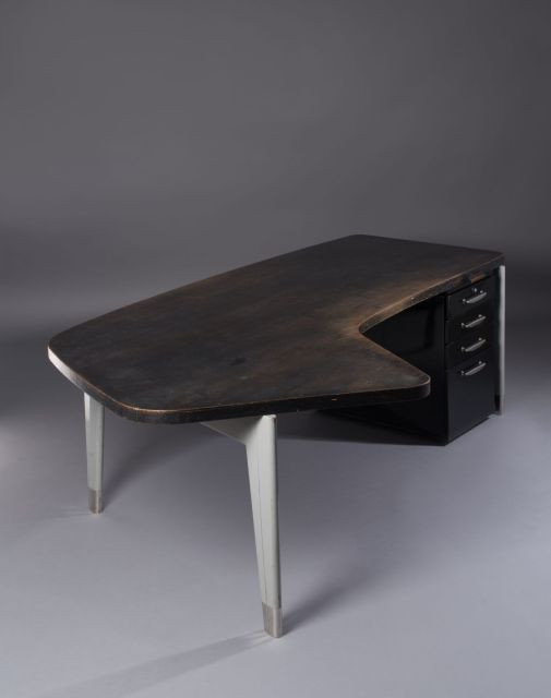 Design vente n 2712 lot n 33 artcurial for Bureau jean prouve