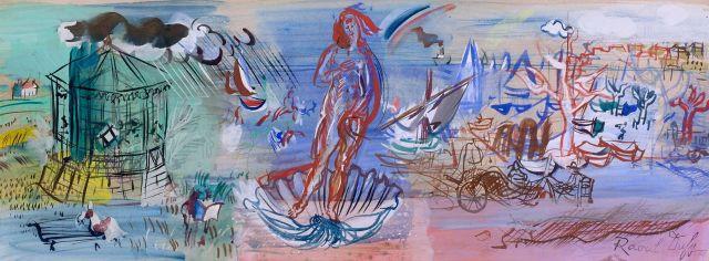 Raoul DUFY 1877 - 1953 LA NAISSANCE DE VENUS
