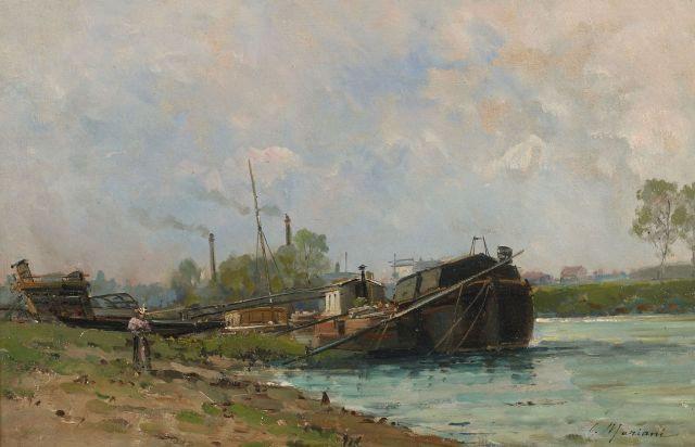 Le chaland - Emile Verhaeren 2781_10520490_0