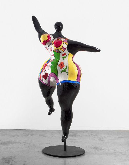 Niki De Saint Phalle 1930 2001 Nana Danseuse Noire Grande