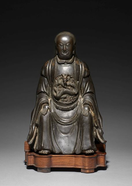 datant de bronze chinois
