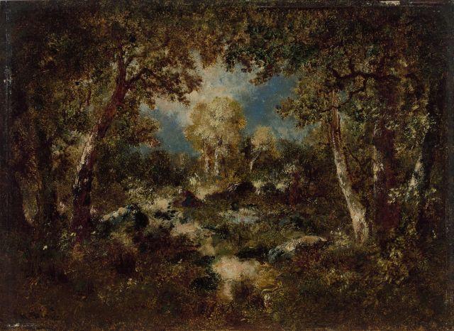 Narcisse Diaz de La Pena Bordeaux, 1807 - Menton, 1876 Fagoteuse dans un...