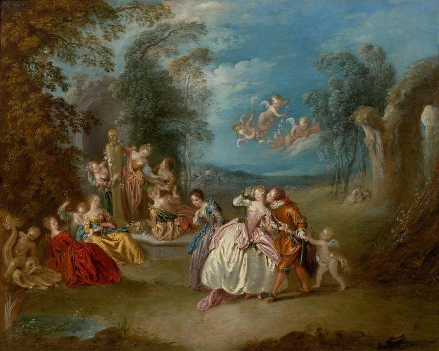 Jean-Baptiste Pater Valenciennes, 1695 - Paris, 1736 Le Colin-Maillard