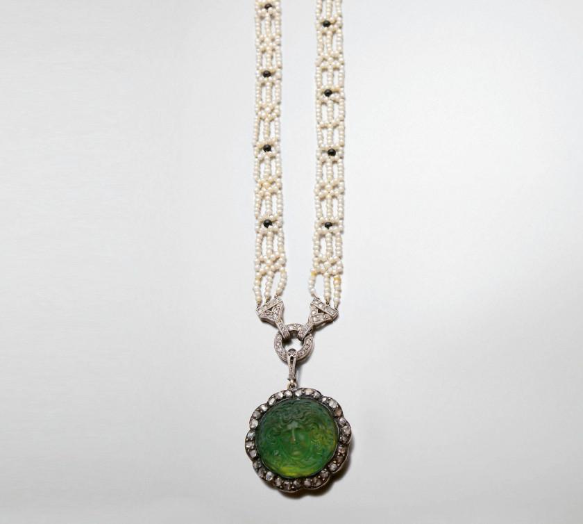 Bijoux, Montres 511 Collier Oeil De Chat Rouge Bijoux Jewel Jewellery