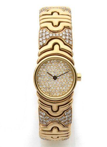 BULGARI Montre bracelet de dame en or jaune à quartz, modèle a6ea670ab90
