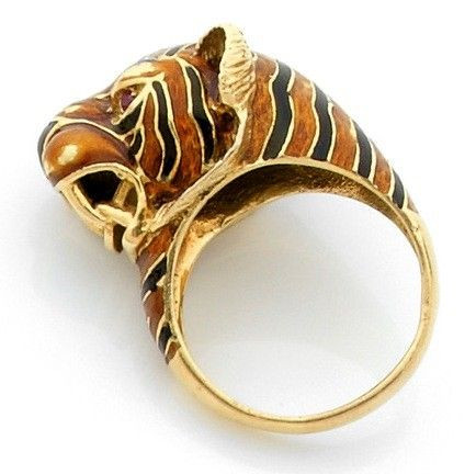 bague or tigre