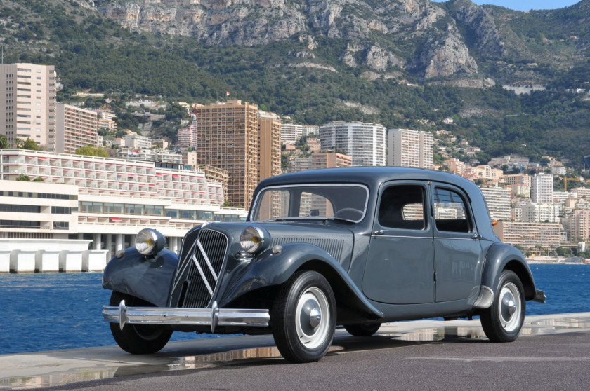 1952 Citroën Traction 11B berline