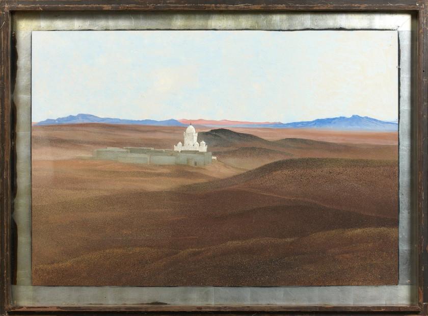 François Louis SCHMIED 1873   1941 Vue Prise Du0027El Hamman, Figuig Peinture