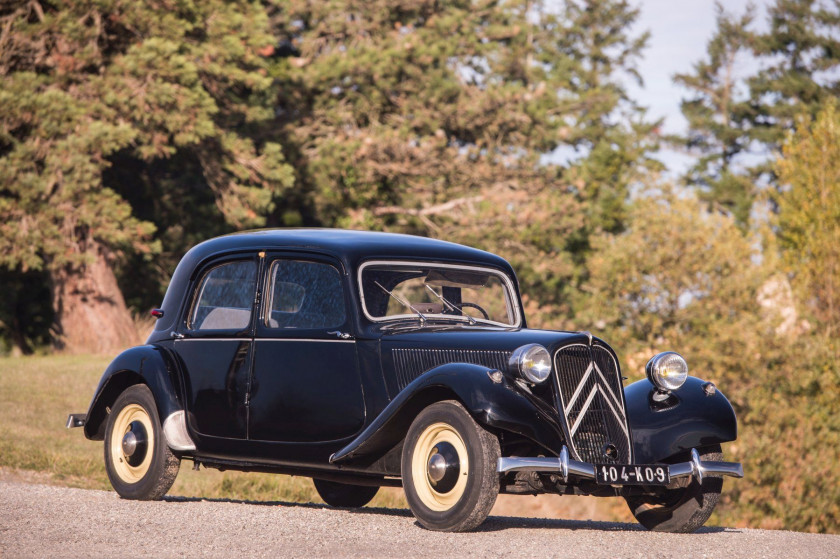 1952 Citroën Traction 11 BL berline No reserve