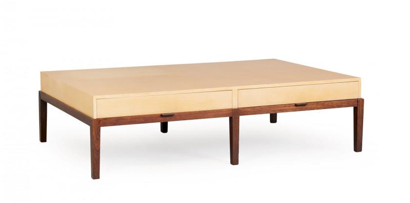 Christian liaigre né en 1945 grande table basse dite