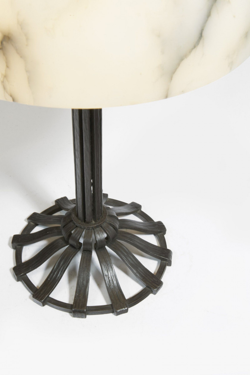 Raymond SUBES 1891-1970 Lampe de table - circa 1920