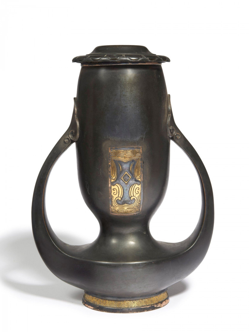 CHRISTOFLE  Vase - circa 1900