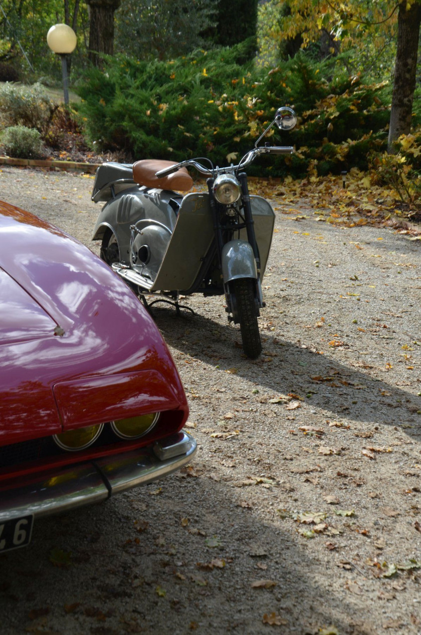 1949 Isoscooter type SIEII 125 cm3  No reserve