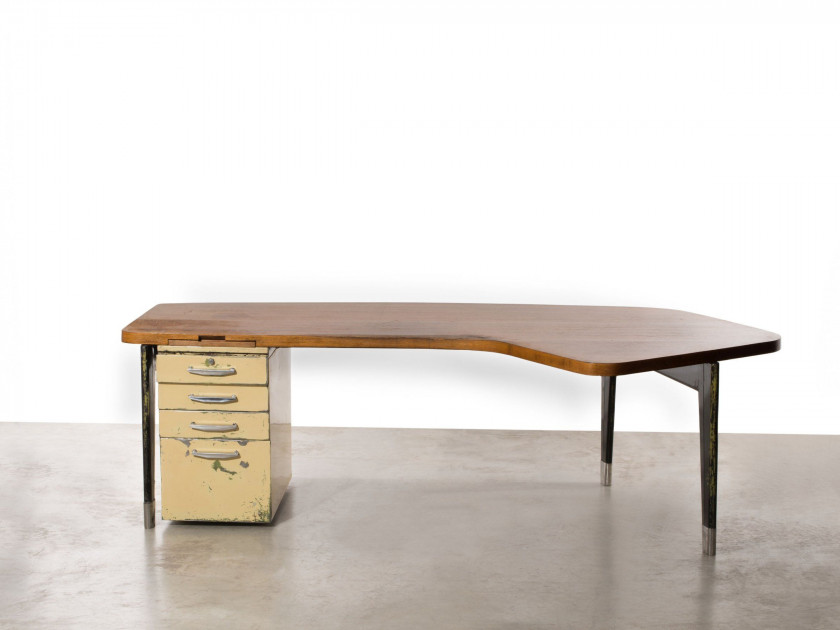 Bureau bois noir georges bureau vantongerloo georges rare bureau