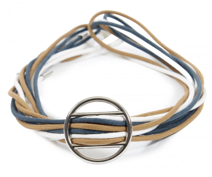 cadfddebb95 ... HERMÈS Bracelet MÉDOR Box noir Métal plaqué or Bracelet CROISETTE  Argent (925) Taille