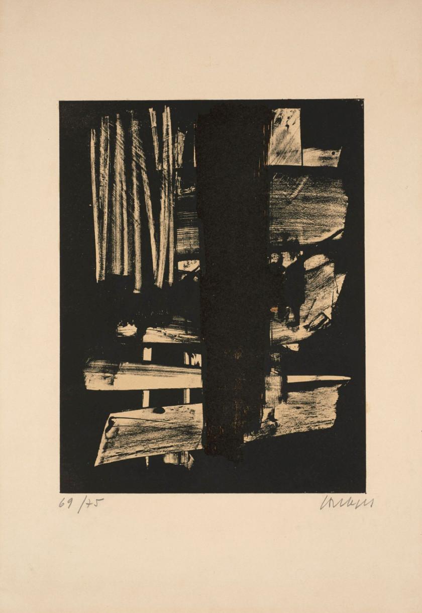 Estampes livres illustr s vente n 3183 lot n 112 for Affiche pierre soulages
