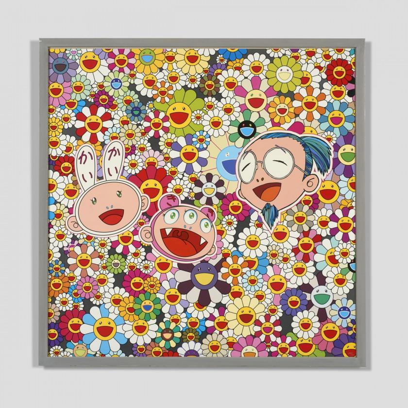 Murakami Takashi Lithographie signée et numérotée