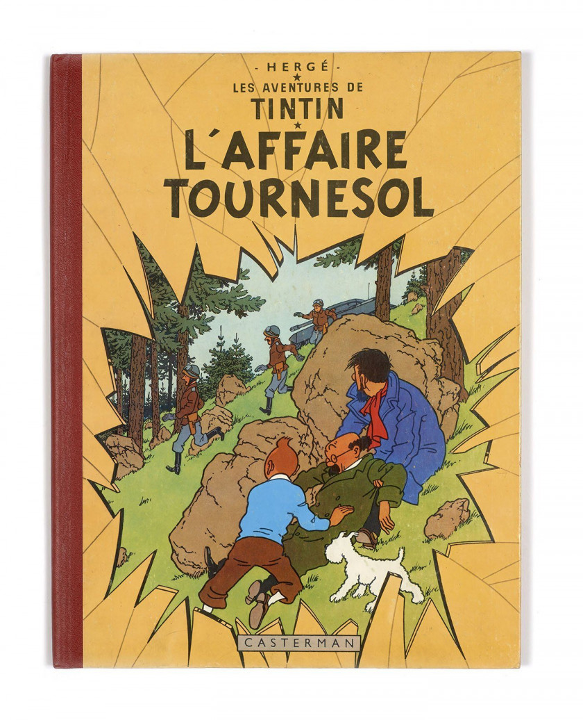 TINTIN N°18  L'Affaire Tournesol