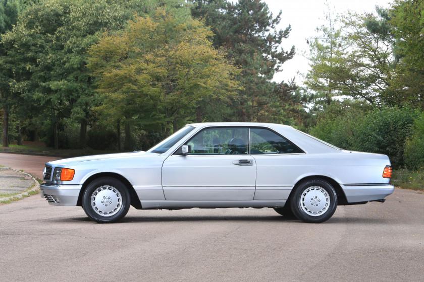 Mercedes benz by artcurial motorcars sale n 3308 lot n for 1986 mercedes benz 560 sec